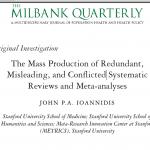 Producción masiva de metaanálisis de baja calidad: idea para bloguear