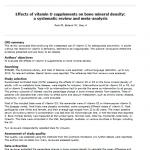 Efectos de los suplementos de vitamina D en la densidad mineral ósea – revisión sistemática y meta-análisis: lectura crítica DARE