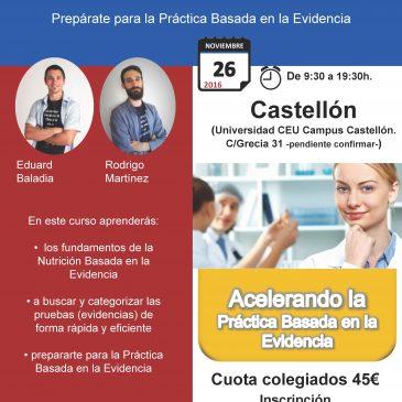 Curso de Evidencias Rápidas en NHyD (Castellón)